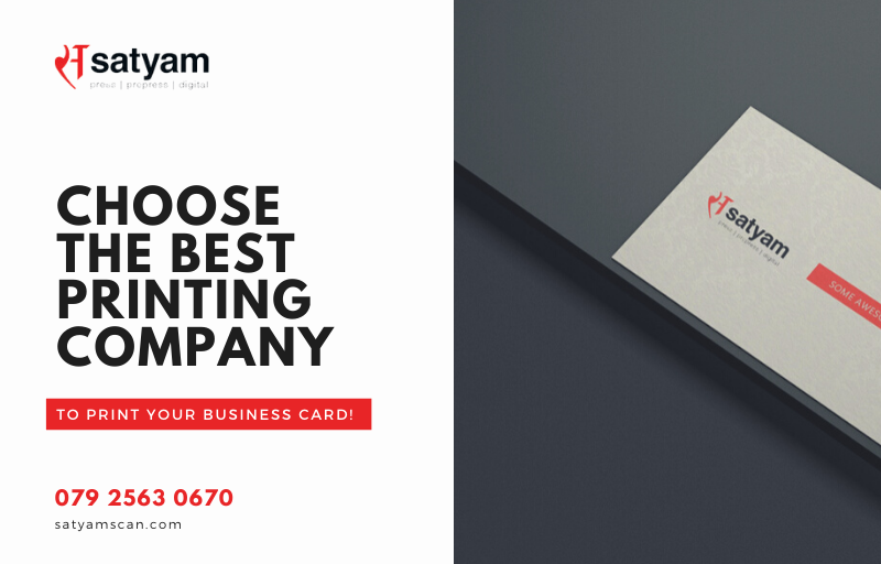 Choose the Best Printing Company to Print Your Business Card!