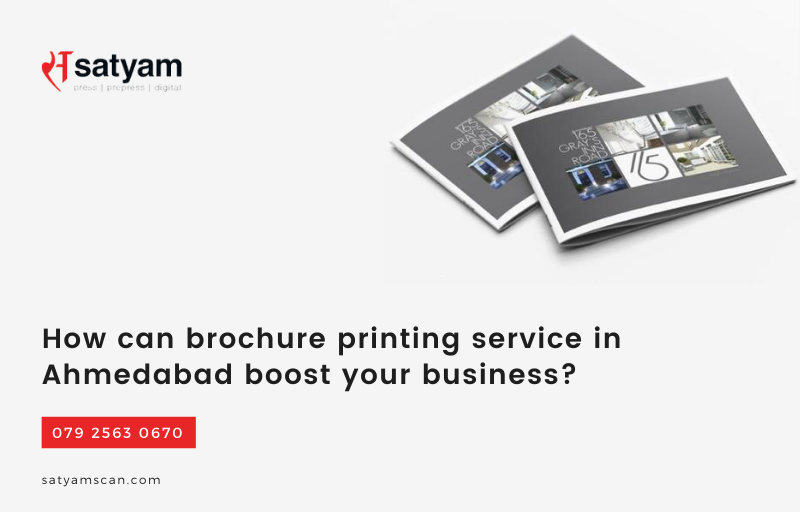 How Can Brochure Printing Service in Ahmedabad Boost Your Business?